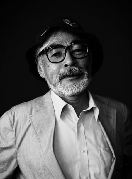 宮崎駿監督。
