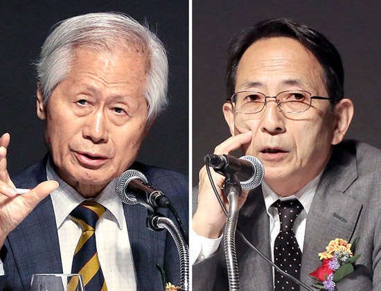 金永熙(キム・ヨンヒ)中央日報論説委員と若宮啓文元朝日新聞主筆が26日、韓日関係をテーマに対談を持った。