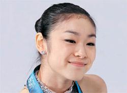 フィギュアのキム・ヨナ。