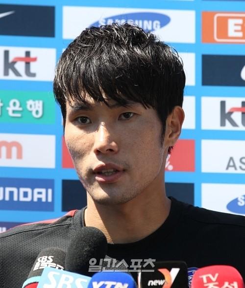 韓国栄(ハン・グギョン、23、湘南ベルマーレ)。