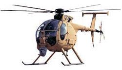 大韓航空が無人ヘリコプターに改造する予定の500MD。