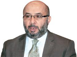 リビア国防部のカリド・アルシュリフ次官
