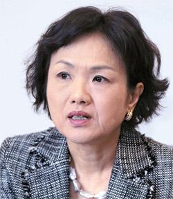日本貿易振興機構(JETRO)ソウル事務所の大砂雅子所長(57)。