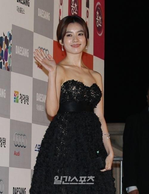女優のハン・ヒョジュ。