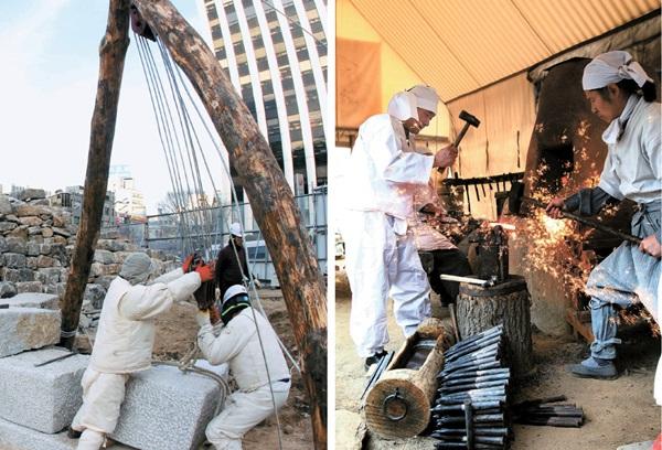 南大門伝統復元は1日だけのショー。