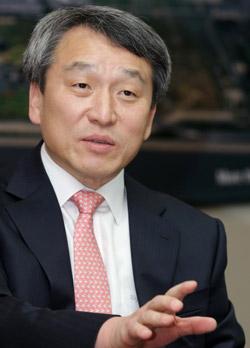 仁川国際空港公社の鄭昌洙(チョン・チャンス)社長。