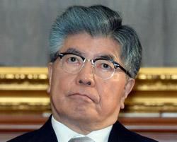 韓国銀行の金仲秀(キム・ジュンス)総裁。