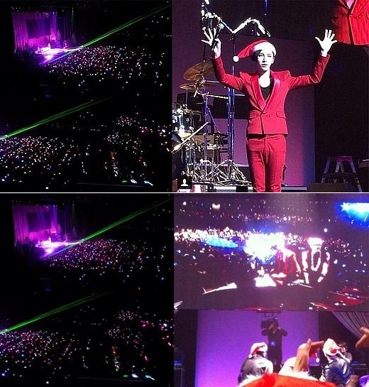 俳優ノ・ミヌの日本単独コンサートの様子。(写真=本人のインスタグラム)