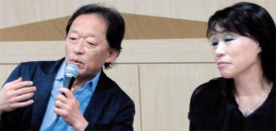 鄭明勲ソウル市立交響楽団芸術監督(左)と陳銀淑常任作曲家は「発展する新年」を強調した。[写真=ソウル市立交響楽団]