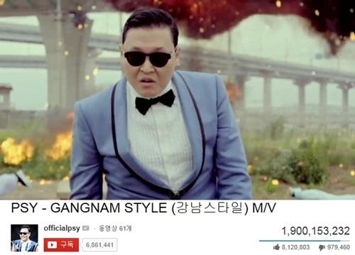 PSYの「江南スタイル」ニュージックビデオ