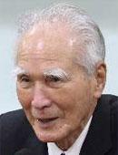 村山富市・元日本首相。