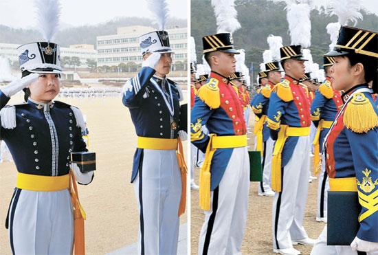 27日、空軍士官学校と陸軍士官学校の卒業式がそれぞれ開かれた。