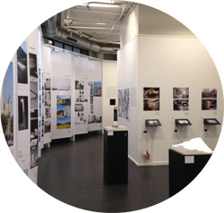 「韓国建築の軌跡」パリ展示場