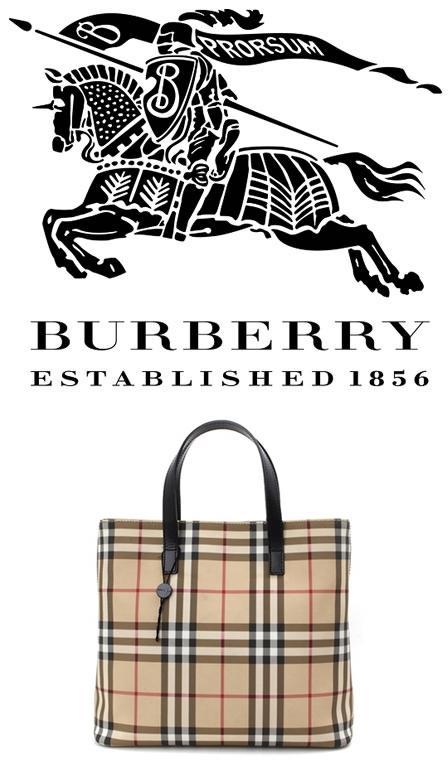 英国ブランドのバーバリーが韓国企業を相手取り「チェック柄」戦争をしている。写真はチェック柄が入ったバーバリーのバッグ。(写真=ISフォト)