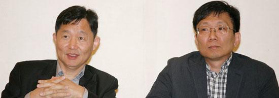 キム・デシク教授とキム・トゥシク教授