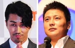 俳優チャ・スンウォン(左)とプロ野球選手の金泰均(キム・テギュン)