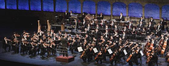 2013年「ザルツブルク音楽祭」にアジアの交響楽団として初めて招かれ演奏を披露したNHK交響楽団。6月1日、広上淳一指揮でソン・ヨルウムとプロコフィエフのピアノ協奏曲第3番とマーラー交響曲第4番を演奏する。(写真=錦湖アシアナ文化財団)
