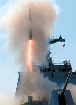 韓国の国産対潜魚雷「ホンサンオ(紅鮫)」