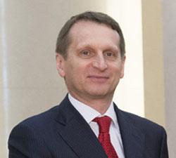 セルゲイ・ナルイシキン露下院議長