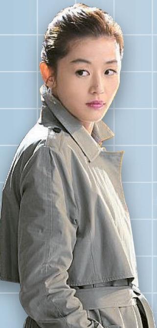 プログラム「ActiveX」と電視身元確認システム「公認認証書」のせいで中国の消費者が購入できなかった女優チョン・ジヒョンの「チョン・ソンイ・コート」。
