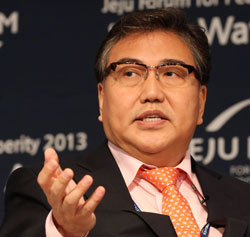 朴振(パク・ジン)元国会外交通商統一委員長