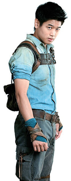 ハリウッドのブロックバスター映画『メイズ・ランナー』で韓国式の名前を持つ強靭な少年「ミンホ」を演じた俳優キホン・リー。(写真提供=20世紀フォックスコリア)