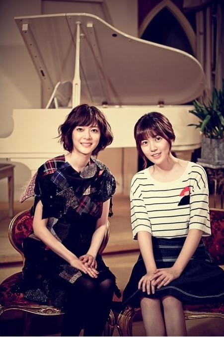 女優の上野樹里(左)とシム・ウンギョン(写真提供=制作会社グループエイト)