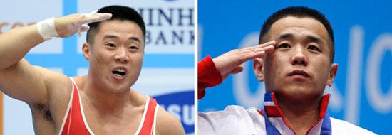 キム・ウングク(左)、オム・ユンチョル(右)
