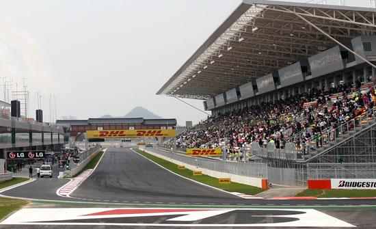 2010年からF1コリアグランプリが開かれてきた全羅南道霊岩(チョンラナムド・ヨンアム)のコリアインターナショナルサーキット。全南道は赤字累積により追加開催をあきらめている状態だ。(写真=中央フォト)