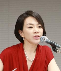 趙顕娥(チョ・ヒョンア)大韓航空副社長(中央フォト)