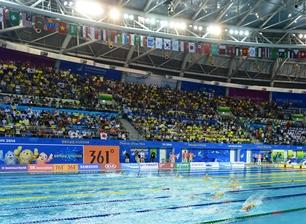 仁川アジア競技大会で競泳種目が行われた文鶴(ムンハク)の朴泰桓プール。(写真=中央フォト、※写真は資料です)