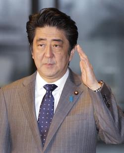 安倍晋三首相(写真=中央フォト)