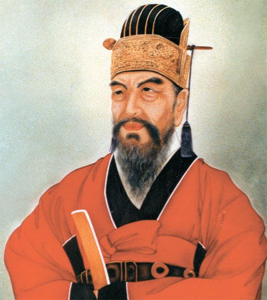 国立現代美術館に所蔵された柳成竜の肖像画。チェ・グァンス(1932~90)の作品だ。柳成竜は壬辰倭乱が終わった後に退位して慶尚北道安東の河回村に都落ちし、戦乱の全貌を盛り込んだ『懲ビ録』を書いた。