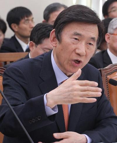 尹炳世外交部長官(写真=中央フォト)