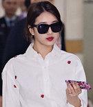 話題になったmiss A(ミスエイ)スジの空港ファッション
