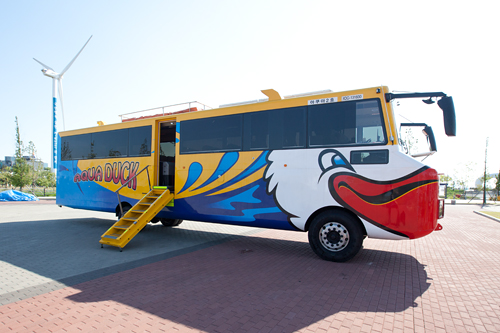 NOW!ソウル】まるで漫画の世界?韓国初・水陸両用バス登場 ...