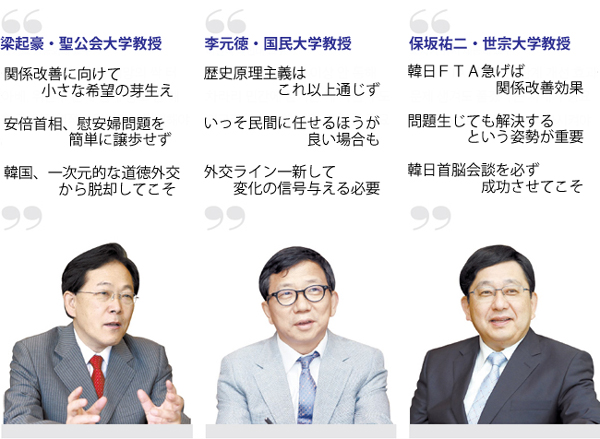 専門家たちによる韓日関係の診断