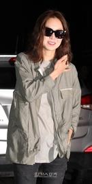 20日午後、ソウル汝矣島の飲食店で開かれたKBS第2テレビのドラマ『プロデューサー』の放映終了打ち上げパーティに登場した女優のコン・ヒョジン。