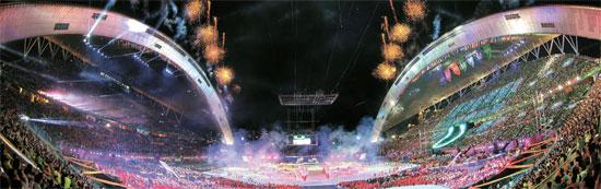 2015光州(クァンジュ)夏季ユニバーシアードの開会式