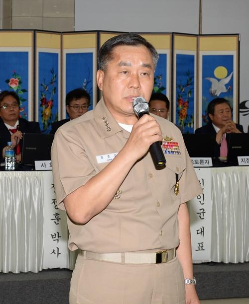 チョン・ホソプ海軍参謀総長(写真=海軍)