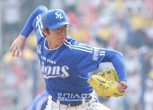 サムスン・ライオンズ所属の林昌勇(イム・チャンヨン、39)