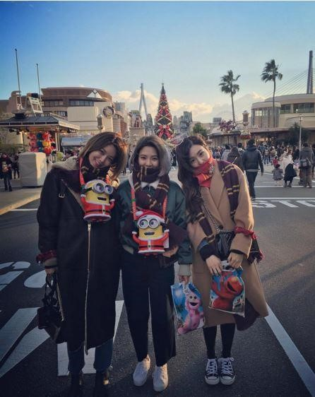 少女時代の(左から)スヨン、ヒョヨン、ティファニー(写真=ヒョヨンのインスタグラム)