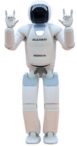 ホンダの知能ロボット「アシモ」
