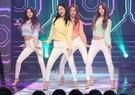 27日、京畿道高陽市一山東区MBCドリームセンターで開かれたMBC MUSICの音楽番組『SHOW CHAMPION』に登場したガールズグループのDal★Shabet。