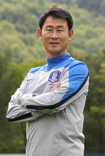 尹徳汝・韓国女子サッカー代表チーム監督(写真=中央日報DB)