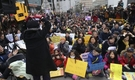 「日本軍慰安婦問題解決のための定期水曜集会」24周年だった先月6日、集会参加者が集まった様子。(写真=中央フォト)