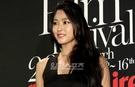 10日午後、ソウル江南区新寺洞(カンナムグ・シンサドン)の清潭(チョンダム)シネシティで行われた「第5回マリクレール映画祭」開幕式に登場したガールグループAOAメンバーのソリョン。