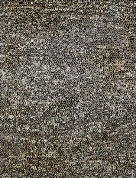 4日、ルネッサンス香港ハーバービュー・ホテルで開かれた第17回ソウルオークション香港競売で3300万香港ドル(約4億7200万円)で落札された金煥基画伯の『無題』(1970年)。(写真=ソウルオークション)