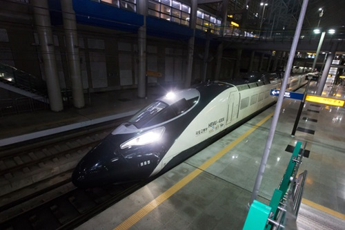 高速列車「ヘム(HEMU-430X)」(写真=韓国鉄道技術研究院)