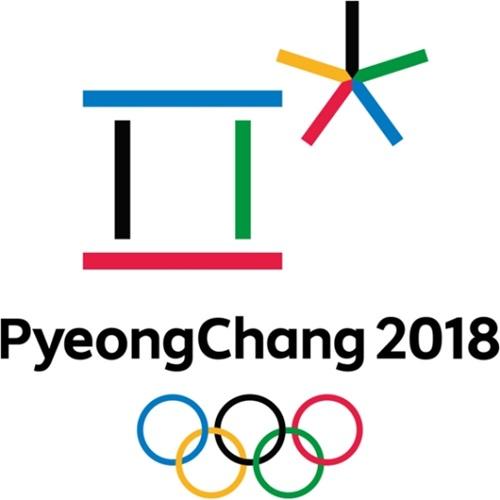 2018平昌(ピョンチャン)オリンピックのロゴ。